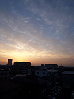 saitama in the morning